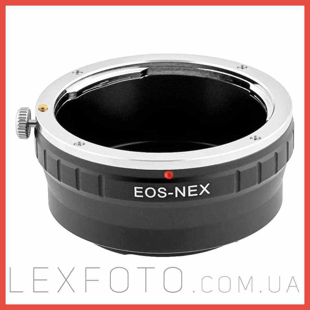 Переходник, адаптер Canon EF  Sony E-mount (NEX)