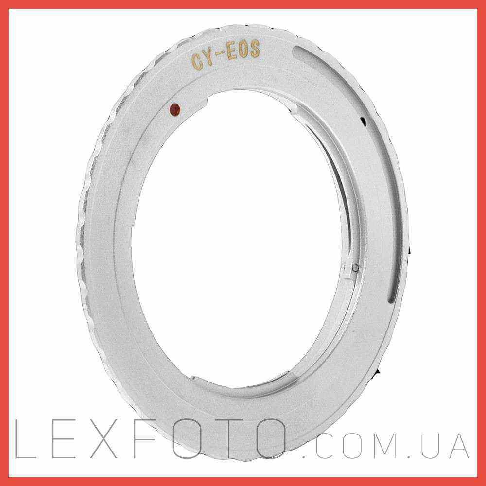 Переходник, адаптер Contax/Yashica  Canon EF без чипа