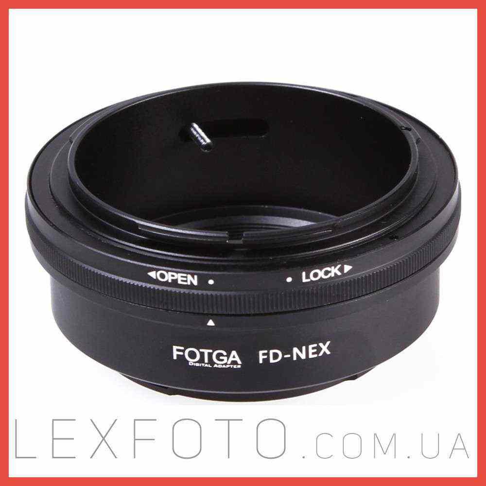 Переходник, адаптер Canon FD  Sony E-mount (NEX)