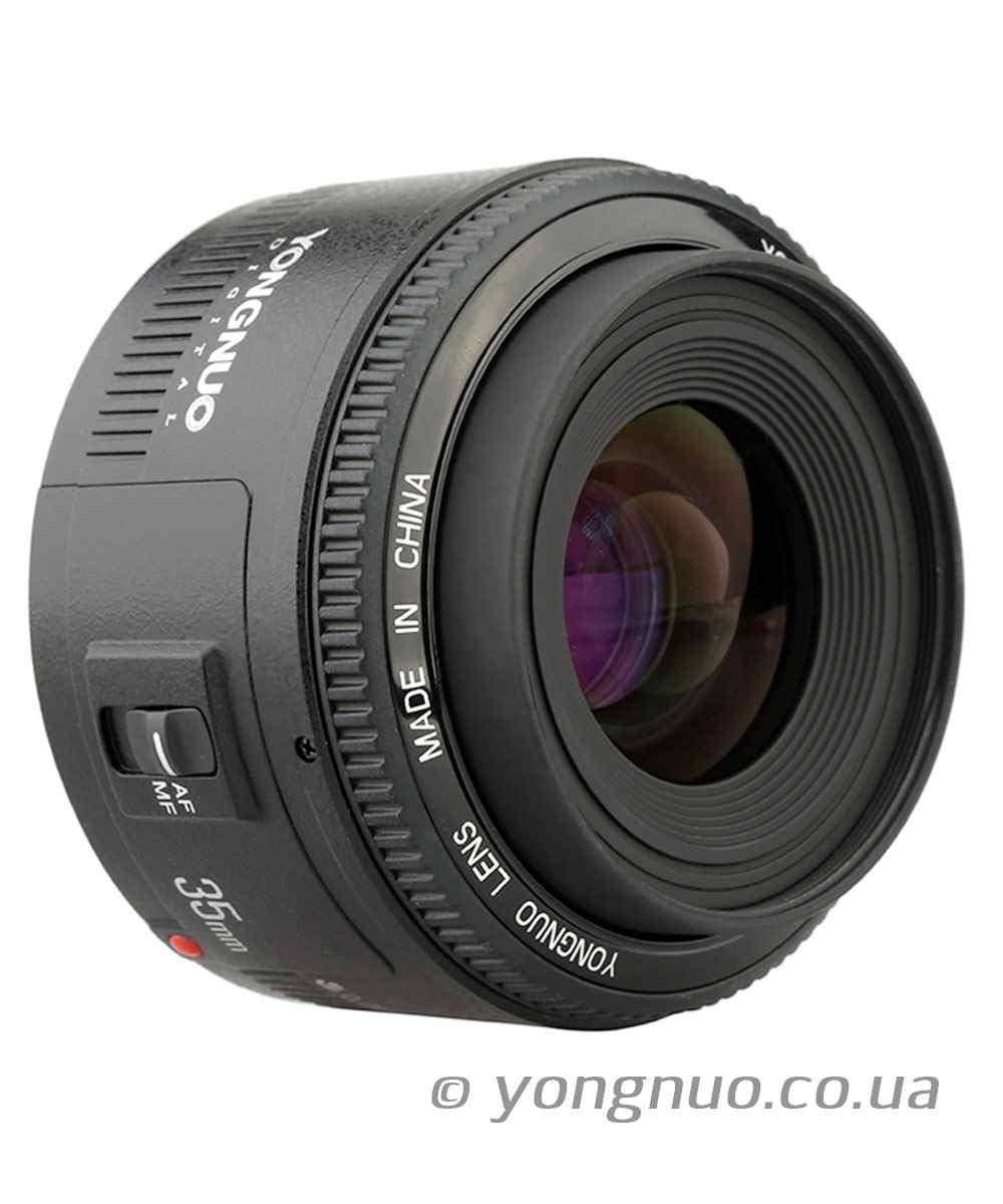 Yongnuo YN 35mm f/2.0 для Nikon